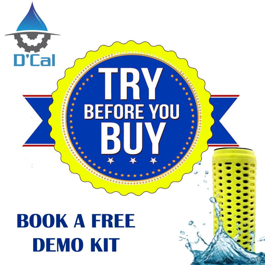 Try it before u buy it dcal hard water softener