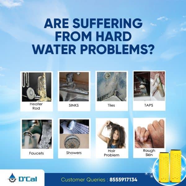 Hard water softener problems
