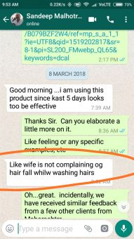 DCal Reviews & Testimonials: Sandeep Malhotra dcal customer testimonial whatsapp